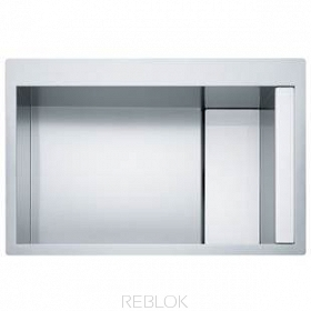 Zlewozmywak FRANKE CLV 210 Stainless Steel-Glass White
