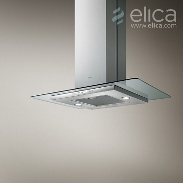 Okap Elica FLAT GLASS ISLAND PLUS IX/A/90