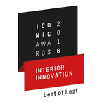 ICONIC AWARDS 2016 - Interior Innovation - Outstanding performance